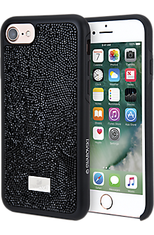 Glam Rock Black Smartphone Incase with Bumper for iPhone 7
