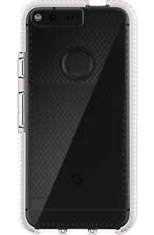 Evo Check Case for Pixel - Clear/White