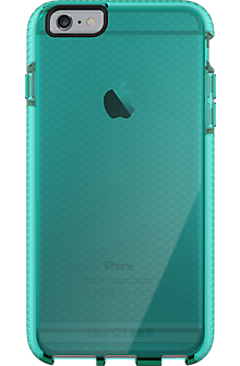 Tech21 Evo Check for iPhone 6 Plus\/6s Plus - Aqua\/White