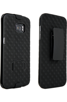 Shell Holster Combo for Samsung Galaxy S7 edge - Black