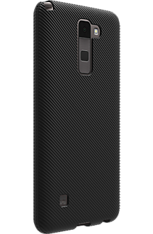 Textured Silicone Case for Stylo 2 V - Black