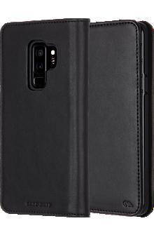 Wallet Folio Case for Galaxy S9+ - Black