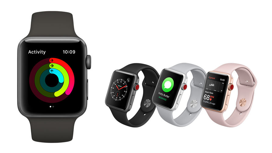 Comparing the Apple Watch