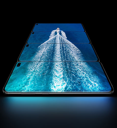 Samsung Galaxy S10 Series Cinematic Displays