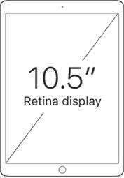 10.5 inch Retina Display