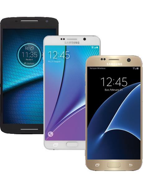 Smartphones 4G LTE Verizon