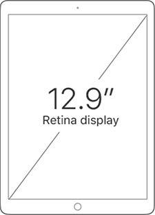 12.9 inch Retina Display