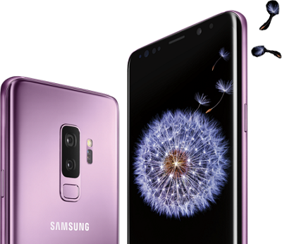 Buy one Samsung Galaxy S9, get one free.