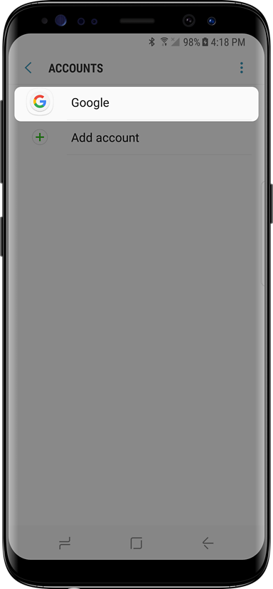 Samsung Galaxy S8 setup guide