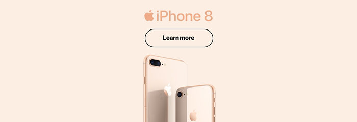 iPhone 8. Learn More