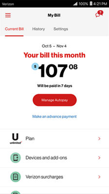 How do i add more data to my verizon account