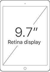 9.7-inch Retina Display