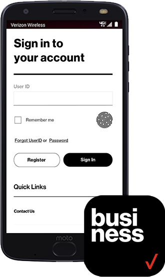 verizon business login