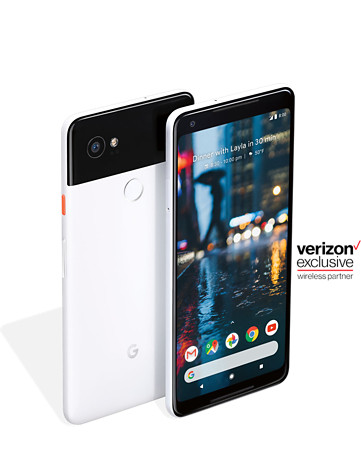 Googlw Pixel 2 on Verizon Wireless