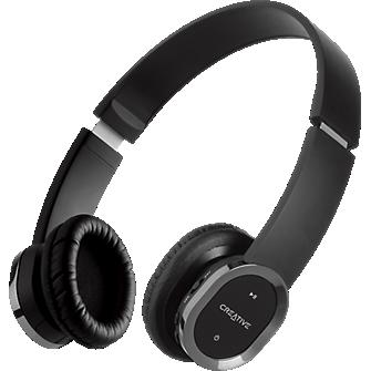 Creative Labs WP-450 Wireless Bluetooth  Headphones with Mic