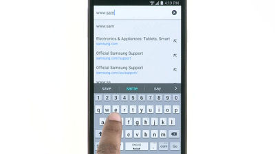How to Browse the Web and Bookmark Pages on Your Samsung Galaxy S 5