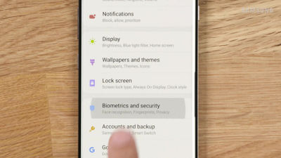 Samsung Galaxy S10 and S10 Plus fingerprint security