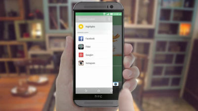 The all new HTC One (M8) - HTC Blink Feed
