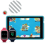 Special offers for purchase of kids' devices like Gizmo and Ellipsis Kids tablet