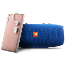 Spotlight on the JBL Charge 3 and mophie powerstation plus 6000