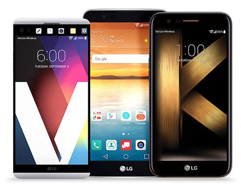 Smartphone 4G LTE LG