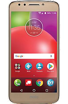 Motorola moto e<sup>4</sup> color oro