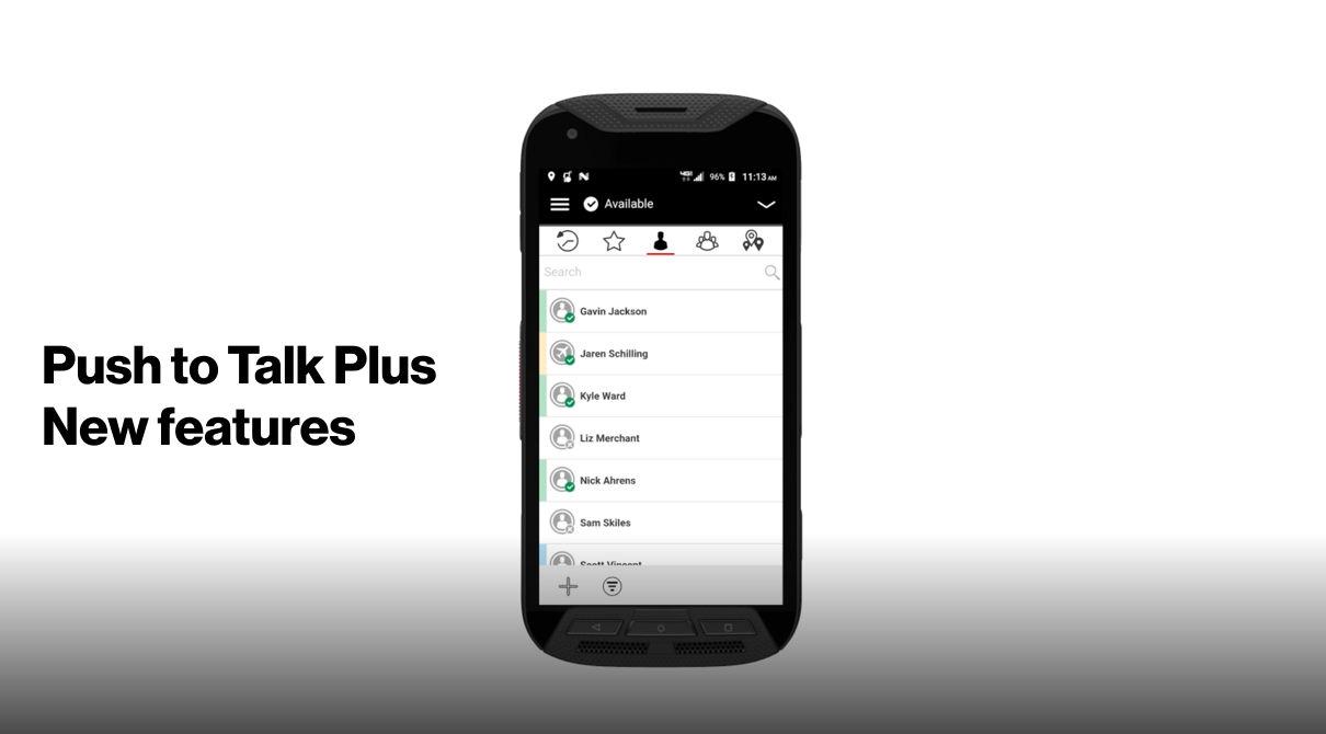 Push to Talk Plus | Productivity | Verizon Wireless Business