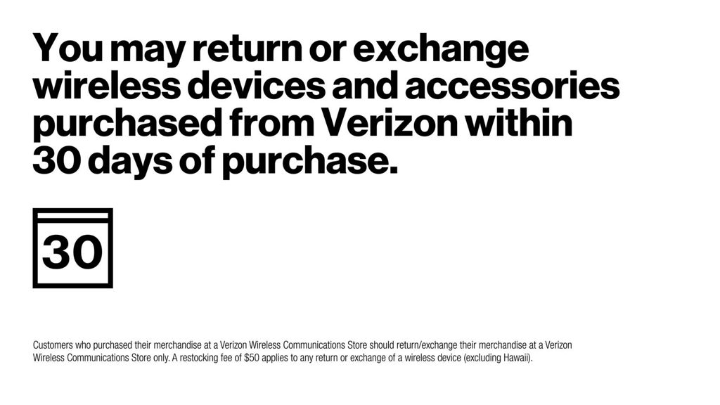 Return a Device or Accessory