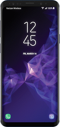 Up to 50% off Samsung Galaxy S9 or S9+. With select trade in