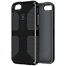 Speck CandyShell Grip Case for Apple iPhone 5c - Black with Gray