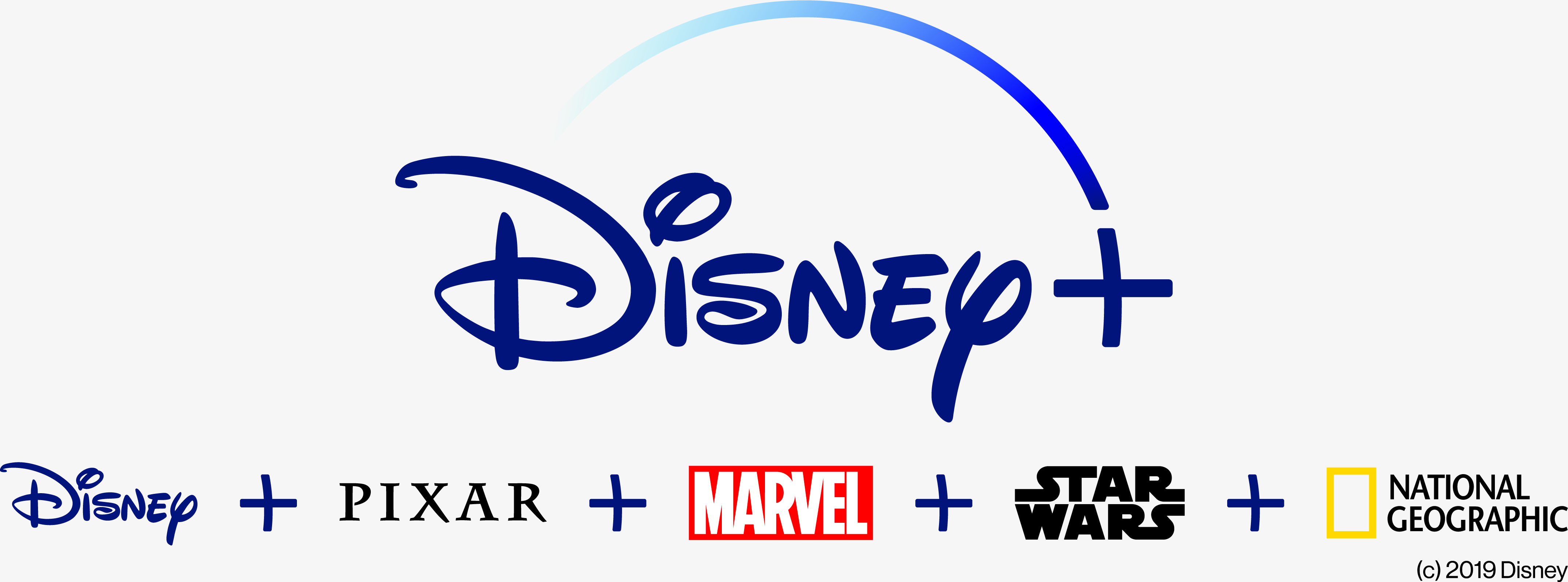 logo de disney plus