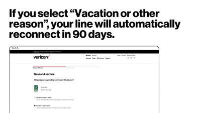 Cómo suspender o reconectar el servicio