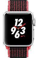 apple watch series 3 nike aluminum 38mm case sport loop. Black Bedroom Furniture Sets. Home Design Ideas