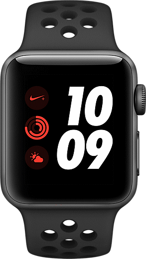 Apple® Watch Series 3 Nike+ Aluminum 38mm Case with Sport Band
