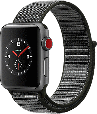 Apple® Watch Series 3 Aluminum 38mm Case with Sport Loop