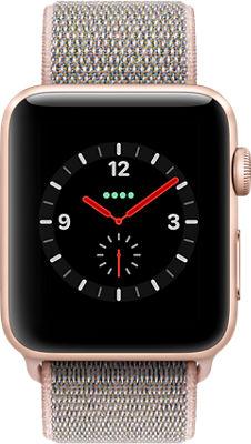 Apple® Watch Series 3 Aluminum 42mm Case with Sport Loop