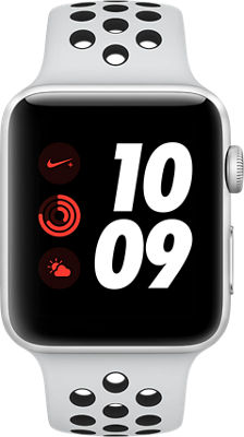 Apple® Watch Series 3 Nike+ Aluminum 42mm Case with Sport Band