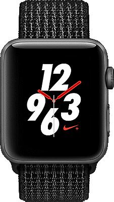 Apple® Watch Series 3 Nike+ Aluminum 42mm Case with Sport Loop