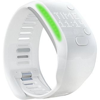adidas miCoach Fit Smart - White Small