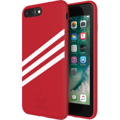adidas Originals Gazelle Suede Case for iPhone 8 Plus/7 Plus/6s Plus/6 Plus - Red/White