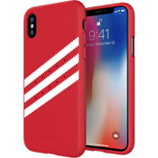 adidas Originals Gazelle Suede Case for iPhone X - Red/White