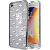 adidas Originals Trefoil Clear Case for iPhone 7/8 - Clear/Silver