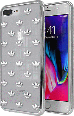 huge selection of da4cb 41313 adidas Originals Trefoil Clear Case for iPhone 7 Plus/8 Plus