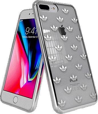 d0a0a348 adidas Originals Trefoil Clear Case for iPhone 7 Plus/8 Plus