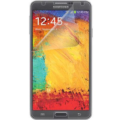 Verizon Anti-Scratch Screen Protectors (3 Pack) w/ Screen Wipe for Samsung Galaxy Note 3