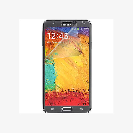 Anti-Scratch Screen Protectors (3 Pack) w/ Screen Wipe for Samsung Galaxy Note 3