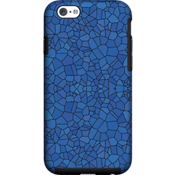 Milk and Honey Blue Mosaic Case for iPhone 6/6s