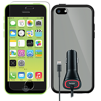 Deluxe Travel Bundle for iPhone 5c