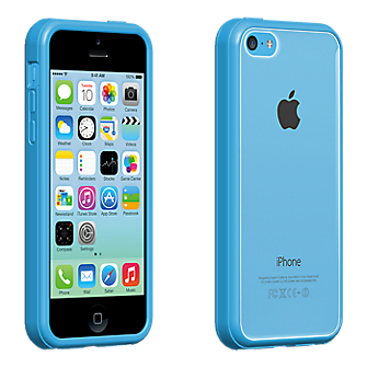 verizon email on iphone verizon clear shell with blue edge for iphone 5c verizon 16388