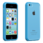 Verizon Clear Shell with Blue Edge for iPhone 5c